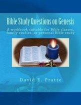 Boek cover Bible Study Questions on Genesis van David E Pratte
