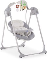 Chicco Polly Swing Up schommelstoel - Silver