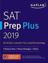 Boek cover SAT Prep Plus 2019 van Kaplan Test Prep