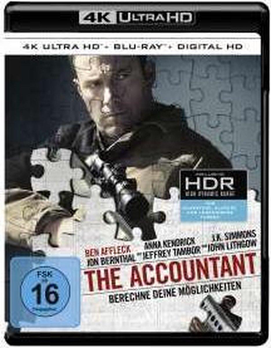 The Accountant (Ultra HD Blu-ray & Blu-ray)-