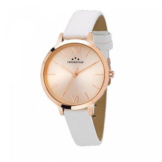 Chronostar Rosü – horloge – R3751267505 – 30mm – zacht roze plaat