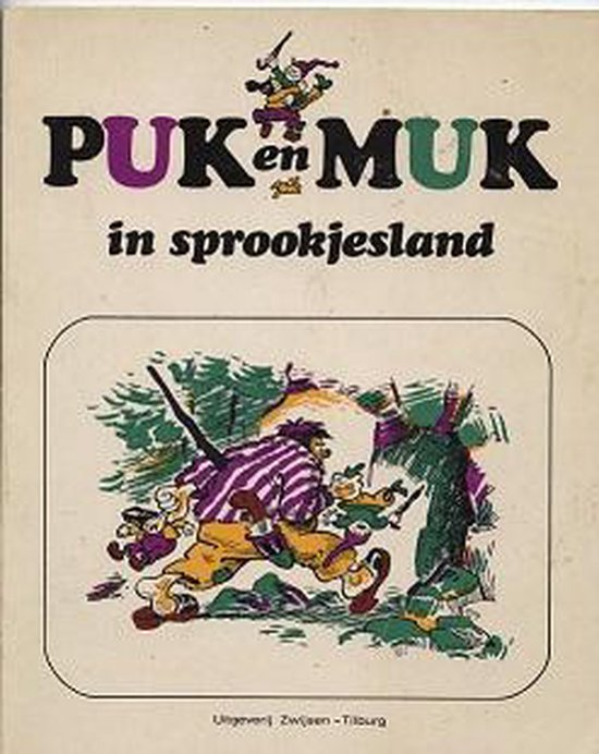 Puk en muk in sprookjesland - Fransen |