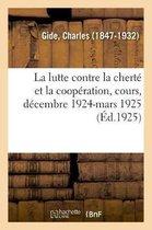 La Lutte Contre La Chert Et La Coop ration, Cours Sur La Coop ration Au Coll ge de France