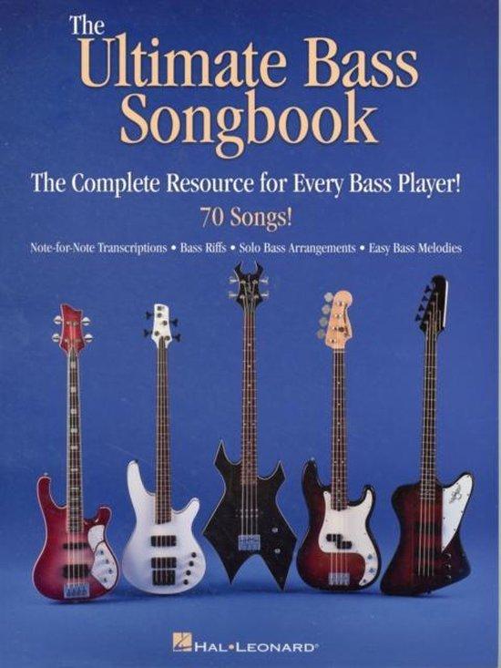 Afbeelding van The Ultimate Bass Songbook
