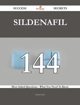 Boekomslag van 'Sildenafil 144 Success Secrets - 144 Most Asked Questions On Sildenafil - What You Need To Know'