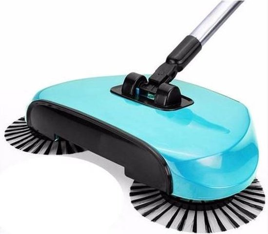 Cycloon Spin Broom rolveger swivel sweeper