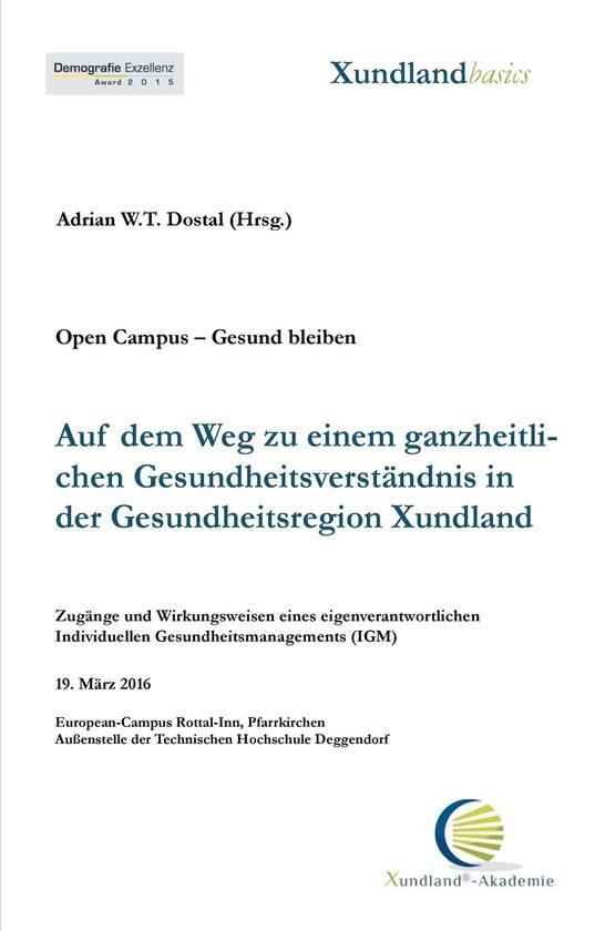 Boek cover Auf dem Weg zu einem ganzheitlichen Gesundheitsverständnis in der Gesundheitsregion Xundland van Elke Maria Schwab-Lohr (Onbekend)