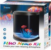 Superfish fluo Nemo aquarium kit 31x21x31cm