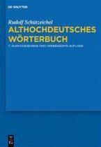 Althochdeutsches Woerterbuch