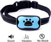 Anti blaf band - Werkt met trillingen en Geluid - Anti-blaf training - Honden Halsband - 7 Niveaus - pijnloos  + extra batterijen