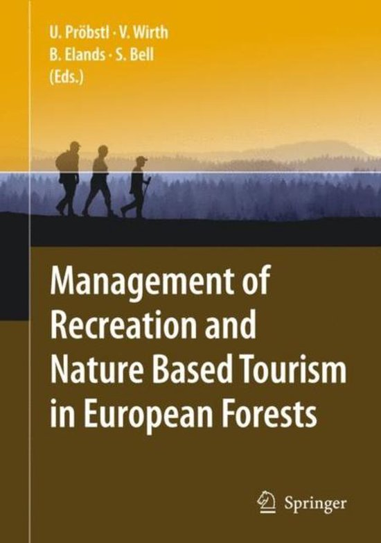 Boek cover Management of Recreation and Nature Based Tourism in European Forests van Ulrike Pröbstl (Hardcover)