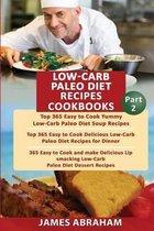 Low- Carb Paleo Diet Recipes Cookbooks