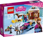 LEGO Disney Princess Frozen Slee-avontuur met Anna & Kristoff - 41066