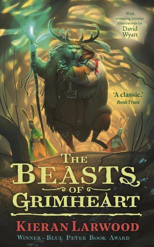 Boek cover The Beasts of Grimheart van Kieran Larwood (Onbekend)