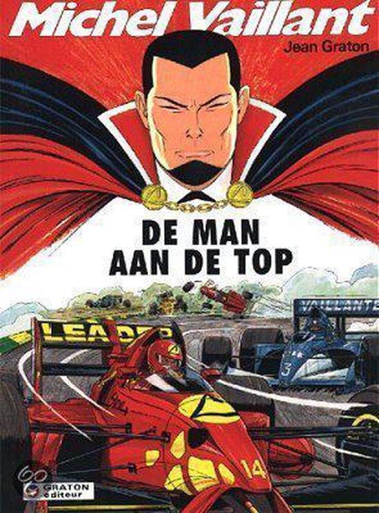 Cover van het boek 'De man aan de top' van Jean Graton en Christian Lippens