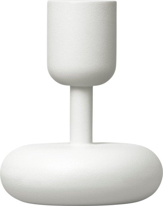 Iittala Nappula Kaarsenstandaard - 10,7 cm - Wit