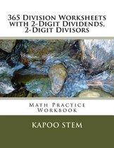 365 Division Worksheets with 2-Digit Dividends, 2-Digit Divisors