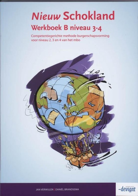 Nieuw Schokland - Niveau 3-4 - Werkboek deel B - Jan Verwijlen |