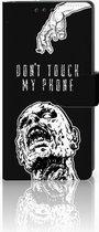 Sony Xperia XA1 Uniek Boekhoesje Zombie