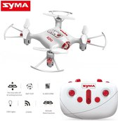 Syma X20 Pocket quadcopter,drone +Barometer functie |2.4ghz  -wit