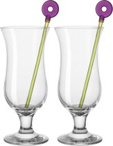 Leonardo Hurrican Bar Cocktailglas - set van 2 incl. Roerstaven