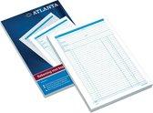 Atalanta REKENINGBLOK A4 5414-013 | Rekening | 50 formulieren in tweevoud met Carbon | Kopie