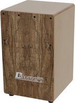 DIMAVERY CJ-580 kinder Cajon - spalted Esdoorn hout - handtrommel - drumbox