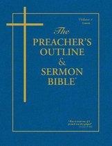 Boek cover Preachers Outline & Sermon Bible-KJV-Genesis 1 van Leadership Ministries Worldwide