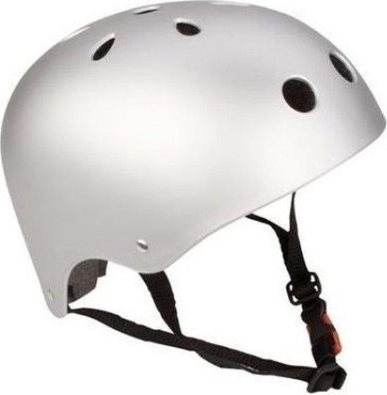 Skatehelm Agrressive - Maat XL - Zilver