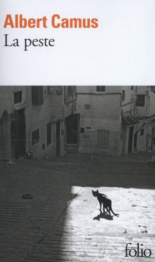 Boek cover La peste van Albert Camus (Paperback)
