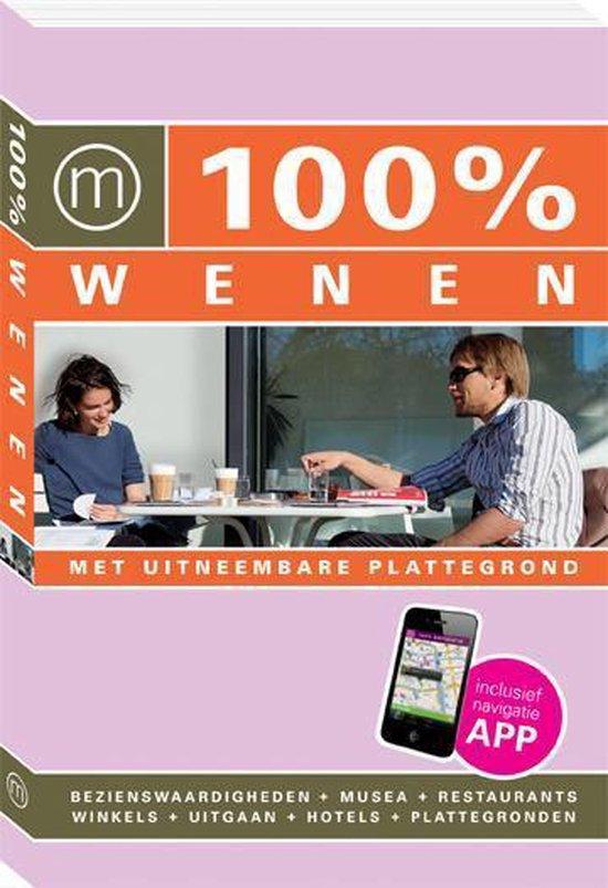 Cover van het boek '100% Wenen / druk Heruitgave' van Chantal de Hommel
