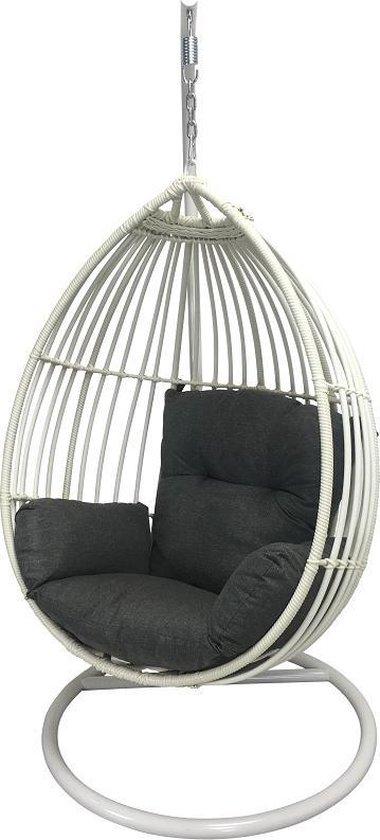 Hangstoel Egg Chair Wit.Bol Com Hangstoel Egg Chair Paris Off White