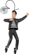 Elvis Presley Wacky Toy voor in de Auto met Zuignap – 18x11x2cm | Auto Accessoires | Personage voor op het Dashboard | Bobble Head