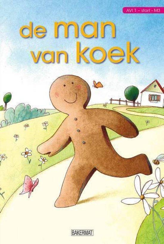 Cover van het boek 'De Man Van Koek' van Mairi Mackinnon