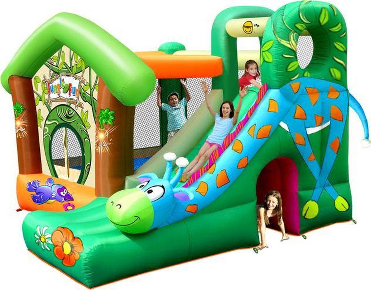 Happy HopJungle Fun - Springkussen