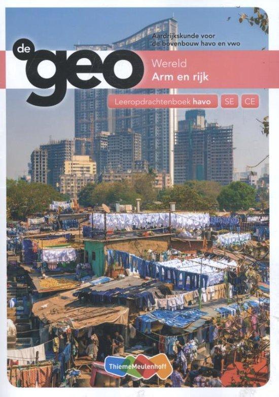De Geo Arm en Rijk bovenbouw havo Leeropdrachtenboek - H.M. van den Bunder |