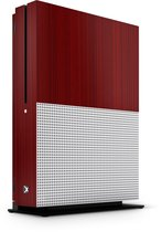 Xbox One S Console Skin Brushed Rood
