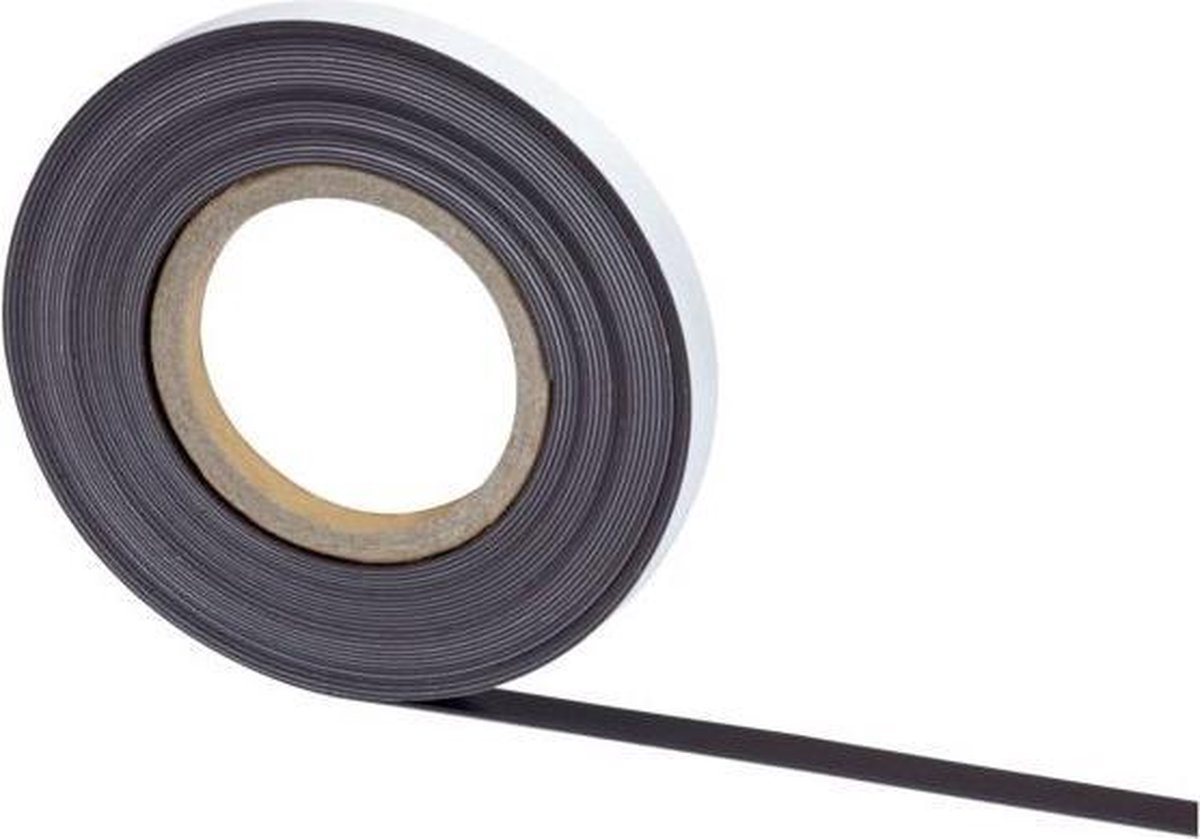 MAUL Magneetband - Zelfklevend - 10 m x 10 mm x 1 mm