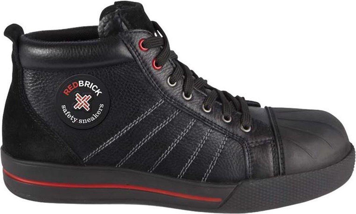 RedBrick Onyx Werkschoenen - Hoog model - S3 - Maat 43 - Zwart