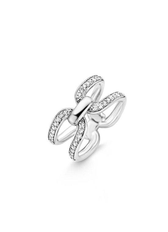 TI SENTO Milano Ring 12059ZI - Maat 50 (16 mm) - Gerhodineerd Sterling Zilver