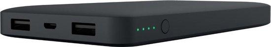 Belkin powerbank met Micro USB oplaad kabel - 10.000 mAh - Zwart