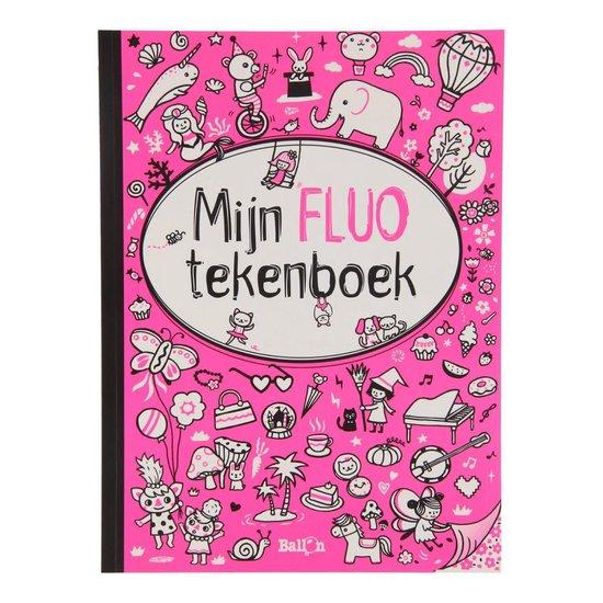 Mijn fluo tekenboek voor meisjes - none | Readingchampions.org.uk