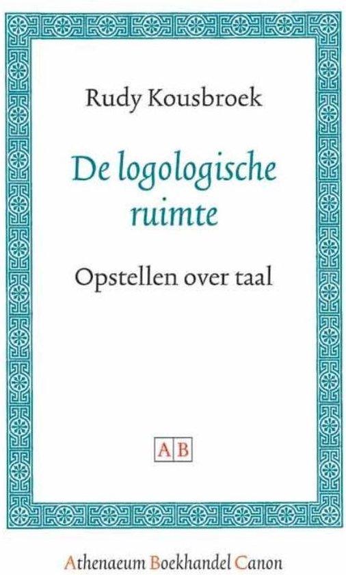 Cover van het boek 'De logologische ruimte' van R. Kousbroek