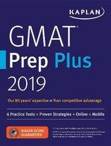 Boek cover GMAT PREP PLUS 2019 van Kaplan Test Prep