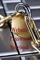 Website Password Notebook