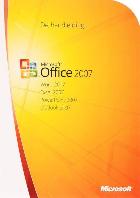Cover van het boek 'Office 2007'