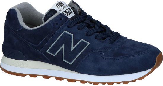 New Balance - Ml 574 - Sneaker laag sportief - Heren - Maat 40 -  Blauw;Blauwe - 10 -Pigment