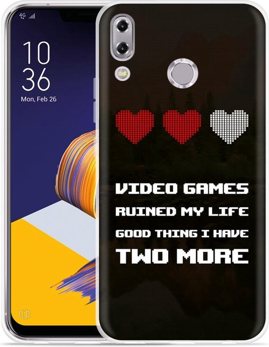Zenfone 5 ZE620KL Hoesje Gamers Life