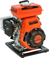 Kibani Waterpomp 8.000 Liter p/uur - 98 cc / 1.5 PK 4-takt Benzine Motor - 4000 Toeren/Minuut - Doorstroming 8 m³ p/uur