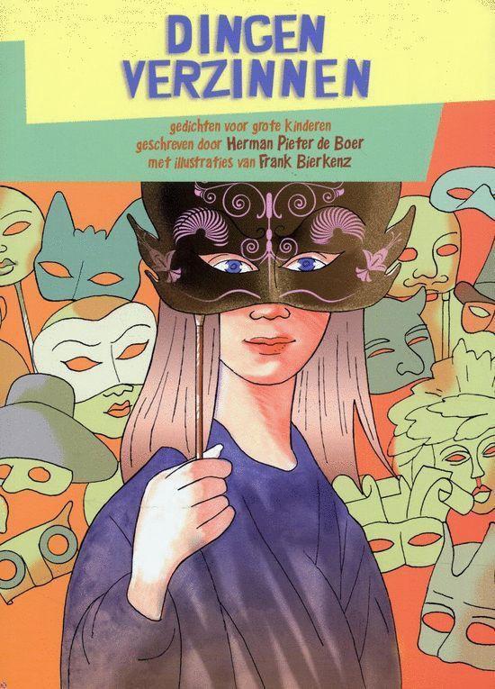 Cover van het boek 'DIngen verzinnen'